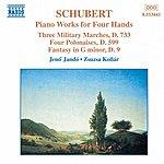 Jenő Jandó SCHUBERT: Piano Works For Four Hands, Vol. 2