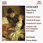 Jenő Jandó MOZART: Piano Duets, Vol. 1