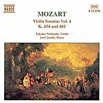 Jenő Jandó MOZART: Violin Sonatas, Vol. 4