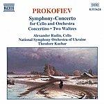 Alexander Rudin PROKOFIEV: Symphony-Concerto / Cello Concertino / Pushkin Waltzes