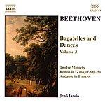 Jenő Jandó BEETHOVEN: Bagatelles And Dances, Vol. 3