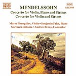 Marat Bisengaliev MENDELSSOHN: Concerto For Violin, Piano And Strings / Violin Concerto In D Minor