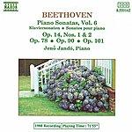Jenő Jandó BEETHOVEN: Piano Sonatas Nos. 9, 10, 24, 27 And 28