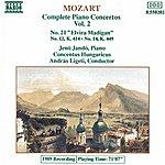 Jenő Jandó MOZART: Piano Concertos Nos. 12, 14 And 21
