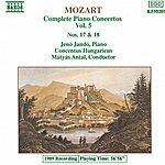 Jenő Jandó MOZART: Piano Concertos Nos. 17 And 18