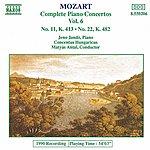 Jenő Jandó MOZART: Piano Concertos Nos. 11 And 22
