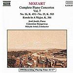 Jenő Jandó MOZART: Piano Concertos Nos. 16 And 25 / Rondo, K. 386
