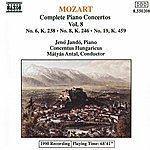 Jenő Jandó MOZART: Piano Concertos Nos. 6, 8 And 19
