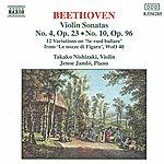 Jenő Jandó BEETHOVEN: Violin Sonatas Opp. 23 And 96 / 12 Variations