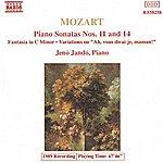 Jenő Jandó MOZART: Piano Sonatas Nos. 11 And 14 / Fantasia In C Minor