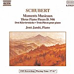 Jenő Jandó SCHUBERT: 6 Moments Musicaux, D. 780 / 3 Piano Pieces, D. 946