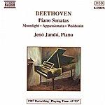Jenő Jandó BEETHOVEN: Piano Sonatas Nos. 14, 21 And 23