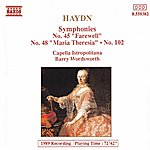 Barry Wordsworth HAYDN: Symphonies, Vol. 4 (Nos. 45, 48, 102)