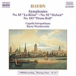 Barry Wordsworth HAYDN: Symphonies, Vol. 5 (Nos. 85, 92, 103)