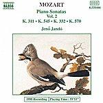 Jenő Jandó MOZART: Piano Sonatas, Vol. 2 (Piano Sonatas Nos. 9, 12, 16 And 17)