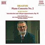 Jenő Jandó BRAHMS: Piano Concerto No. 2 / SCHUMANN, R.: Introduction And Allegro Appassinato, Op. 92