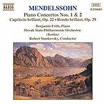 Benjamin Frith MENDELSSOHN: Piano Concertos Nos. 1 And 2 / Capriccio Brillant / Rondo Brillant