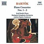 Jenő Jandó BARTOK: Piano Concertos Nos. 1, 2 And 3