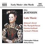 Christopher Wilson JOHNSON: Lute Music