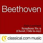 Alain Lombard Ludwig Van Beethoven, Symphony No. 9 In D Minor, Op. 125 (Choral Symphony / Ode To Joy)