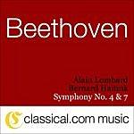 Alain Lombard Ludwig Van Beethoven, Symphony No. 4 In B Flat, Op. 60