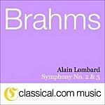 Alain Lombard Johannes Brahms, Symphony No. 2 In D, Op. 73