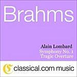 Alain Lombard Johannes Brahms, Symphony No. 1 In C Minor, Op. 68