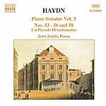 Jenő Jandó HAYDN: Piano Sonatas Nos. 53-56 And 58 / Un Piccolo Divertimento