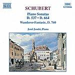 Jenő Jandó SCHUBERT: Piano Sonatas, D. 537 And 664 / 'Wanderer Fantasy'