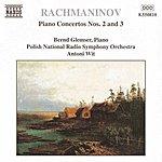 Bernd Glemser RACHMANINOV: Piano Concertos Nos. 2 And 3