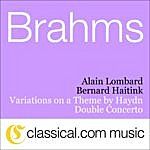 Alain Lombard Johannes Brahms, Double Concerto For Violin And Violoncello In A Minor, Op. 102