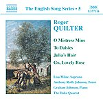 Anthony Rolfe Johnson QUILTER: Songs (English Song, Vol. 5)