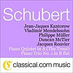 Jacques Rouvier Franz Schubert, Piano Quintet In A 'The Trout', D. 667