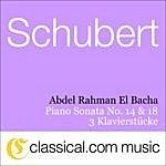 Abdel Rahman El Bacha Franz Schubert, Piano Sonata No. 18 In G, Op. 78 D. 894