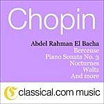 Abdel Rahman El Bacha Fryderyk Franciszek Chopin, 2 Nocturnes, Op. 55