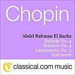 Abdel Rahman El Bacha Fryderyk Franciszek Chopin, 3 Mazurkas, Op. 50