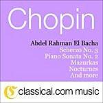 Abdel Rahman El Bacha Fryderyk Franciszek Chopin, 4 Mazurkas, Op. 41