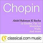 Abdel Rahman El Bacha Fryderyk Franciszek Chopin, 12 Etudes, Op. 10