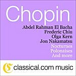 Abdel Rahman El Bacha Fryderyk Franciszek Chopin, Introduction And Variations On The 'Ronde' From Herold's 'Ludovic' Op. 12 In B Flat