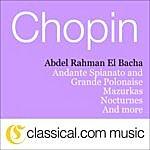 Abdel Rahman El Bacha Fryderyk Franciszek Chopin, Waltz No. 14 In E Minor, Bi 56