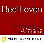 Abdel Rahman El Bacha Ludwig Van Beethoven, Piano Sonata No. 1 In F Minor, Op. 2 No. 1