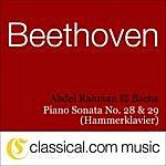 Abdel Rahman El Bacha Ludwig Van Beethoven, Piano Sonata No. 28 In A, Op. 101