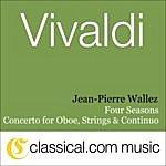 Jean-Pierre Wallez Antonio Vivaldi, The Four Seasons: Spring In E Major, Rv 269 / Op. 8 No. 1