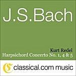 Abdel Rahman El Bacha Johann Sebastian Bach, Harpsichord Concerto No. 1 In D Minor, BWV 1052
