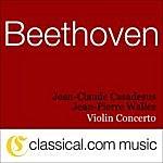 Jean-Pierre Wallez Ludwig Van Beethoven, Violin Concerto In D, Op. 61