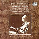 Victor De Sabata Mozart: Requiem KV 626 - Great Italian Conductors, Vol.3: Victor De Sabata