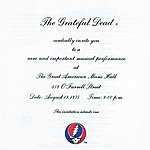 Grateful Dead One From The Vault: The Great American Music Hall, San Francisco, CA, August 13, 1975