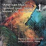 Laurent Martin American Music: Cowell/Copland/Felciano/Cage/Carter/Glass/Bernstein