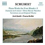 Jenő Jandó Schubert: Piano Works for Four Hands, Vol. 3
