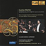 Juliane Banse mahler: Symphony No. 4 (Sinopoli) (Edition Staatskapelle Dresden, Vol.21)
